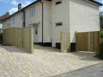 Close board fencing & gates