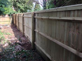 Close board fencing (5)