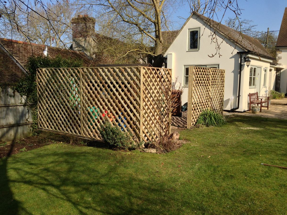 1.8m diamond trellis