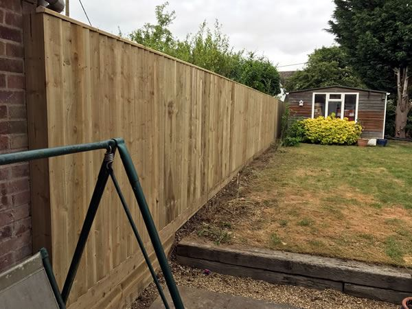 Close board fencing at a property in Abingdon