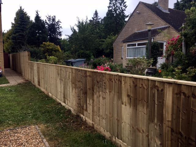 Close board fencing in Witney