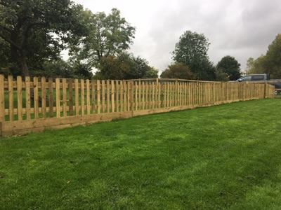 Post & Rail Fencing in Aston, near Witney
