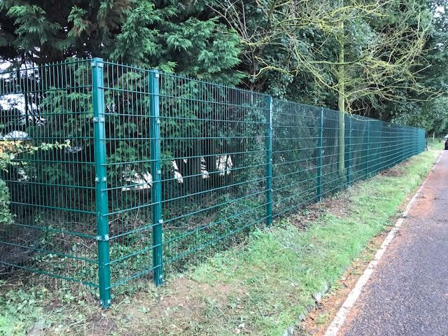 Security mesh fencing in Abingdon