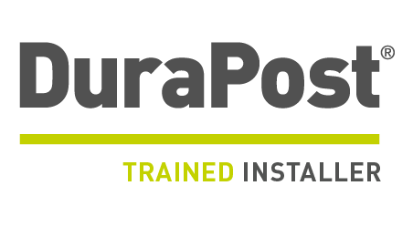 Durapost trained installer logo